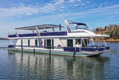 2001 Custom Norris Yachts 85x18 Houseboat