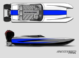2022 Eliminator Boats 25' Speedster