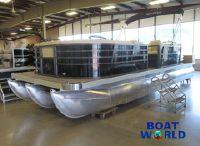 "2022 NEW Montego Bay 8522 Quad Lounger BR ""SP"" Deluxe Tritoon Pontoon &"