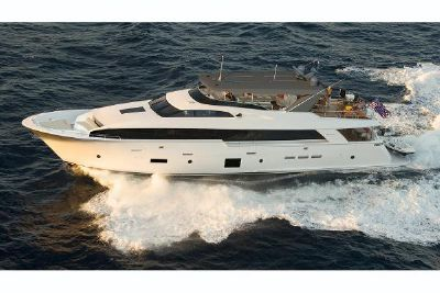 2022 Hatteras 105 Raised Pilothouse