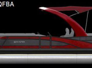 2022 Bennington 25 QFBA