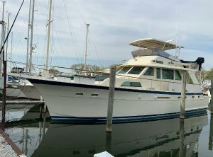 1987 Hatteras Yacht Fish