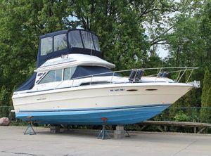1986 Sea Ray 340 Sedan Bridge