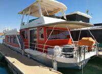 1987 Hilburn Hulburn Custom houseboat