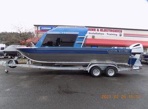 2021 Custom Weld 24/26 Offshore ET