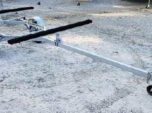2021 Magic Tilt Trailer Dual Kayak Paddle Board