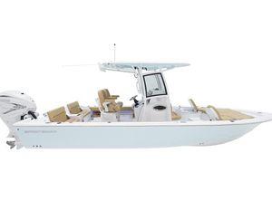 2022 Sportsman Masters 267 Bay Boat
