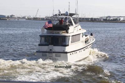 1984 Hatteras 53 Motor Yacht ED STABILIZED