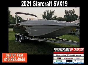 2021 Starcraft SVX 211 OB