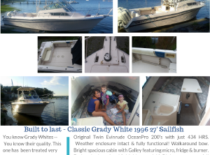 Grady-white 272 Sailfish boats for sale - Boat Trader