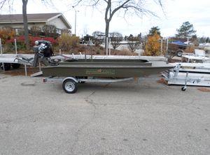 2019 Gator Trax 14' Marsh Boat
