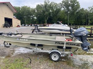 2007 Tracker Grizzly 1648