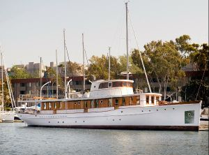 1929 Classic Wilmington Boat Works Motor Yacht