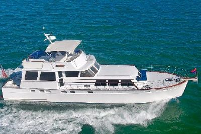 1964 Huckins Seafarer 64