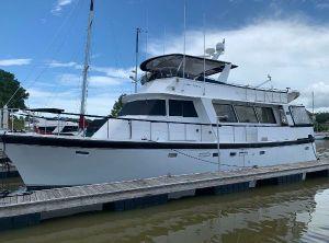 1985 Hartman-Palmer Flush deck Motor Yacht