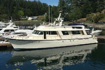 1983 Hatteras Cockpit Motor Yacht