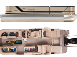 2021 SunCatcher FUSION 324 SS W/ YAMAHA VF200 OUTBOARD