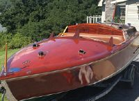 2001 Custom Runabout Speedboat 21' Gentleman's Mahogany