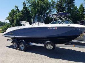 2019 Yamaha Boats 210 FISH DLX - ELT1050B-UA