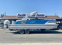 2021 Avalon Excalibur Quad Lounge Windshield 27' w/400HP Mercury Racing Motor!