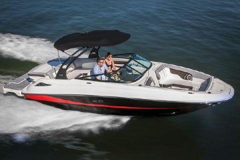 2018 Sea Ray SDX 240 Manufacturer Provided Image