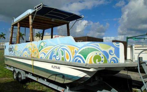1996 Sun Tracker 30' Sun Tracker Pontoon Party Barge