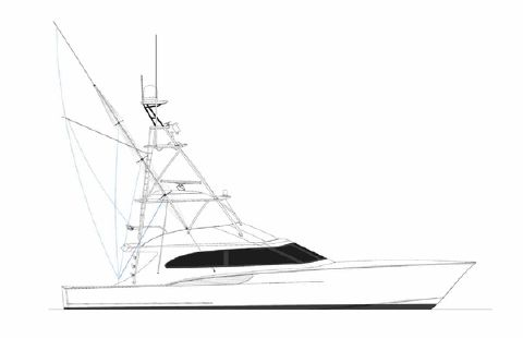 2019 Jarrett Bay Hull Under Construction