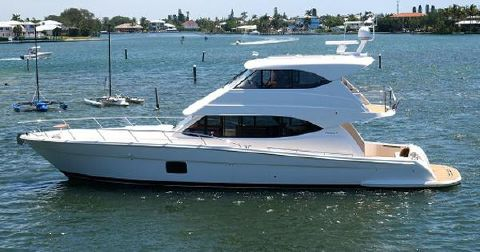 2010 Maritimo 56 Enclosed Bridge