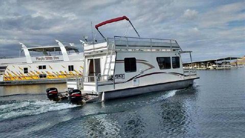 2001 TRACKER BOATS Cruiser Myacht 3512