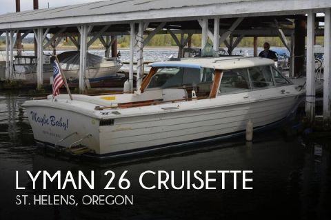 1980 Lyman 26 Cruisette 1980 Lyman 26 Cruisette for sale in St. Helens, OR