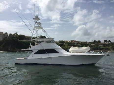 1999 Viking 55 Convertible Stbd View IV