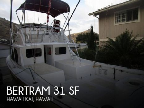 1977 Bertram 31 Sportfisher 1977 Bertram 31 SF for sale in Hawaii Kai, HI