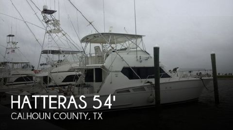 1995 Hatteras 54 Convertible 1995 Hatteras 54 Convertible for sale in Port O'connor, TX