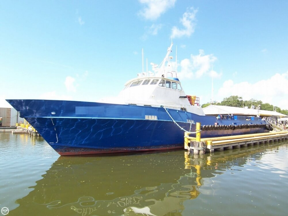 1991 Breaux Brothers 135 Crew Passenger Boat For Sale In