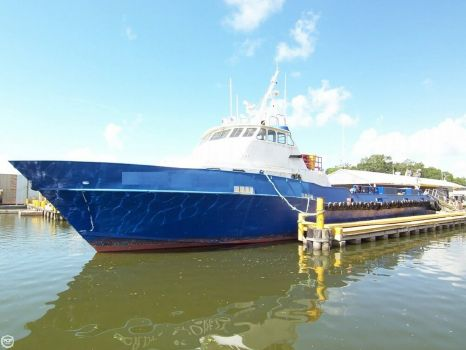 1991 Breaux Brothers 135 Crew Passenger Boat 1991 Breaux 135 Crew Passenger Boat for sale in Amelia, LA