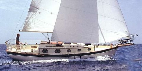 1985 Pacific Seacraft 27 Orion Mark II, Cutter Manufacturer Provided Image