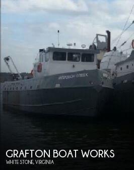 1971 Grafton Boat Works 72 1971 Grafton Boat Works 72 for sale in White Stone, VA