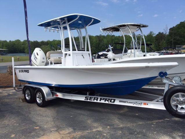 2016 Sea Pro 208 Bay Series
