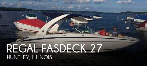 2013 Regal Fasdeck 27 2013 Regal FasDeck 27 for sale in Huntley, IL