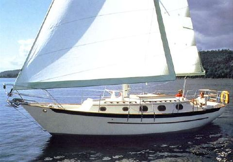 1990 Pacific Seacraft 31 Manufacturer Provided Image