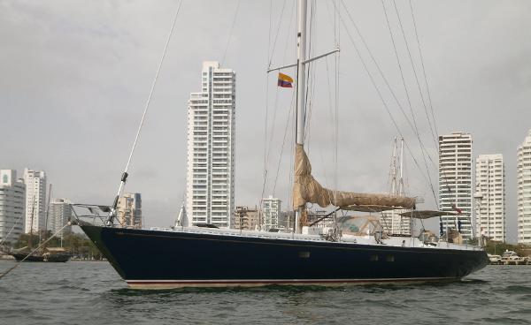 1987 German Frers custom sloop