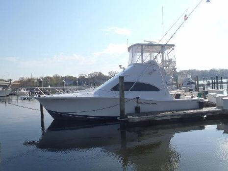 1999 Luhrs 36 Convertible Port Side Profile