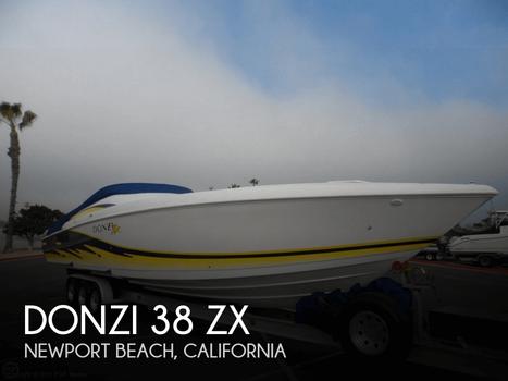 2003 Donzi 38 ZX