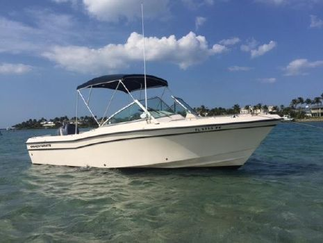 2000 Grady-White Tournament 22 Bimini Top