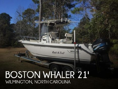 2001 Boston Whaler 210 Outrage 2001 Boston Whaler 210 Outrage for sale in Wilmington, NC