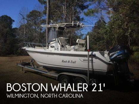 2001 Boston Whaler 210 Outrage