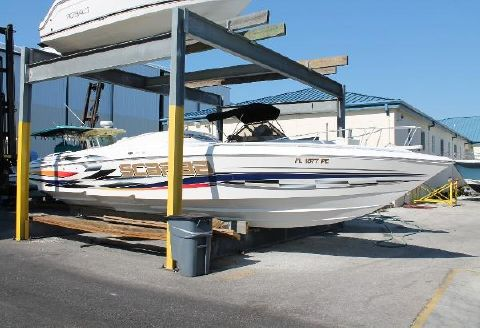 2002 Wellcraft 33 Scarab AVS STB View