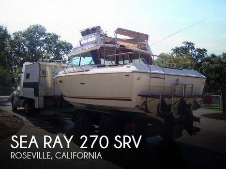 1980 Sea Ray 270 SRV Sedan Bridge