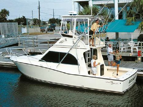 1991 Albemarle 325 Convertible Manufacturer Provided Image