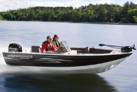 2013 Crestliner 1650 Fish Hawk